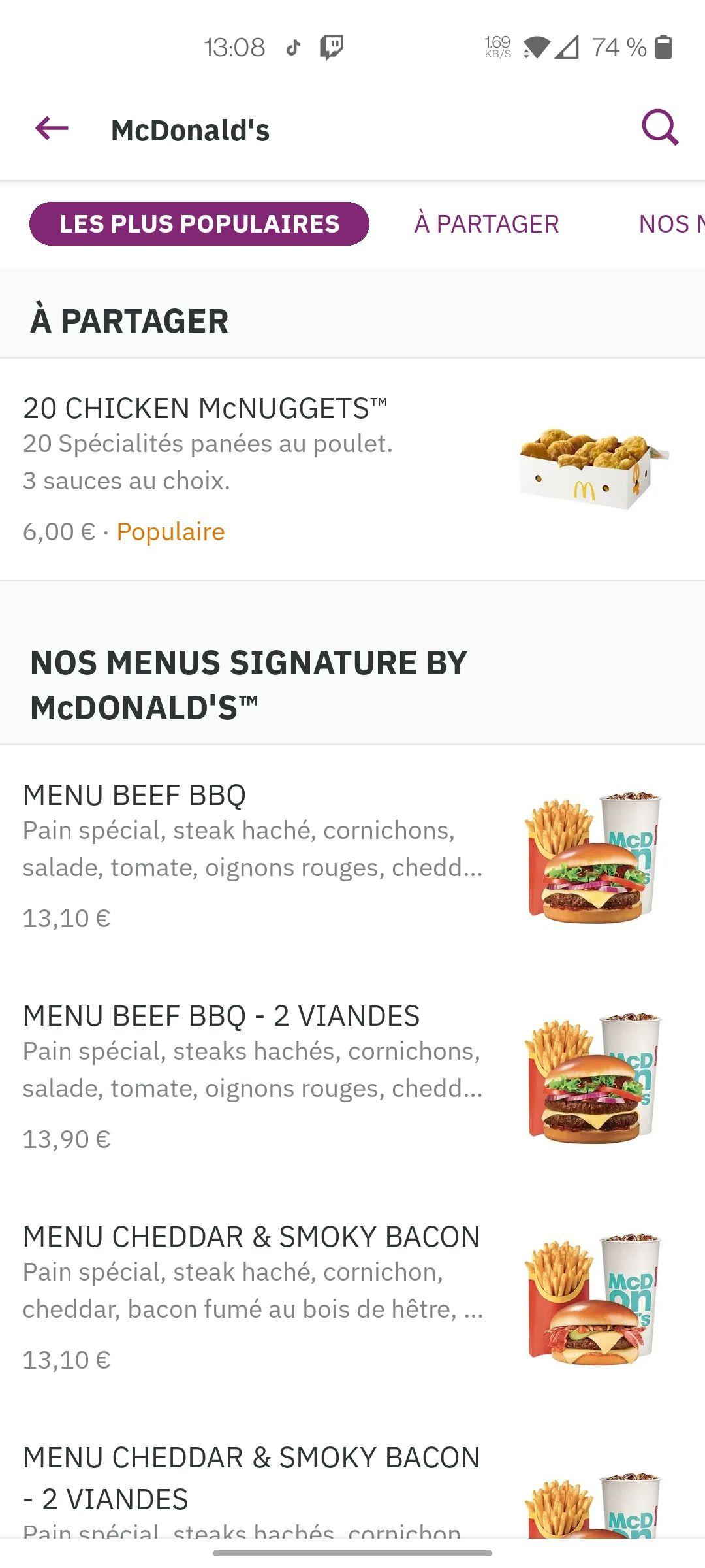 Boîte de 20 Mcnuggets - McDonald's Toulouse (31)