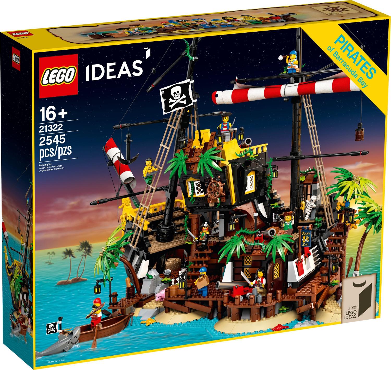 Jeu de construction Lego Ideas - Les pirates de la baie de Barracuda 21322 (via retrait en magasin)