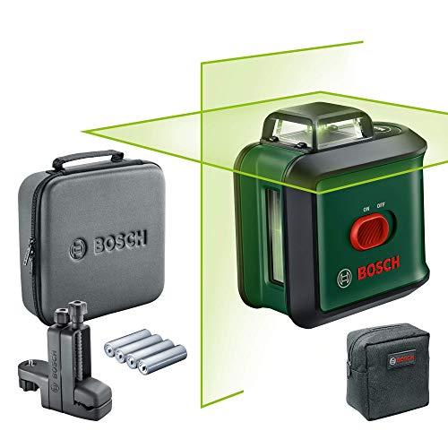 Coffret laser en lignes Bosch UniversalLevel 360 Flexi - portée 24 m, avec accessoires