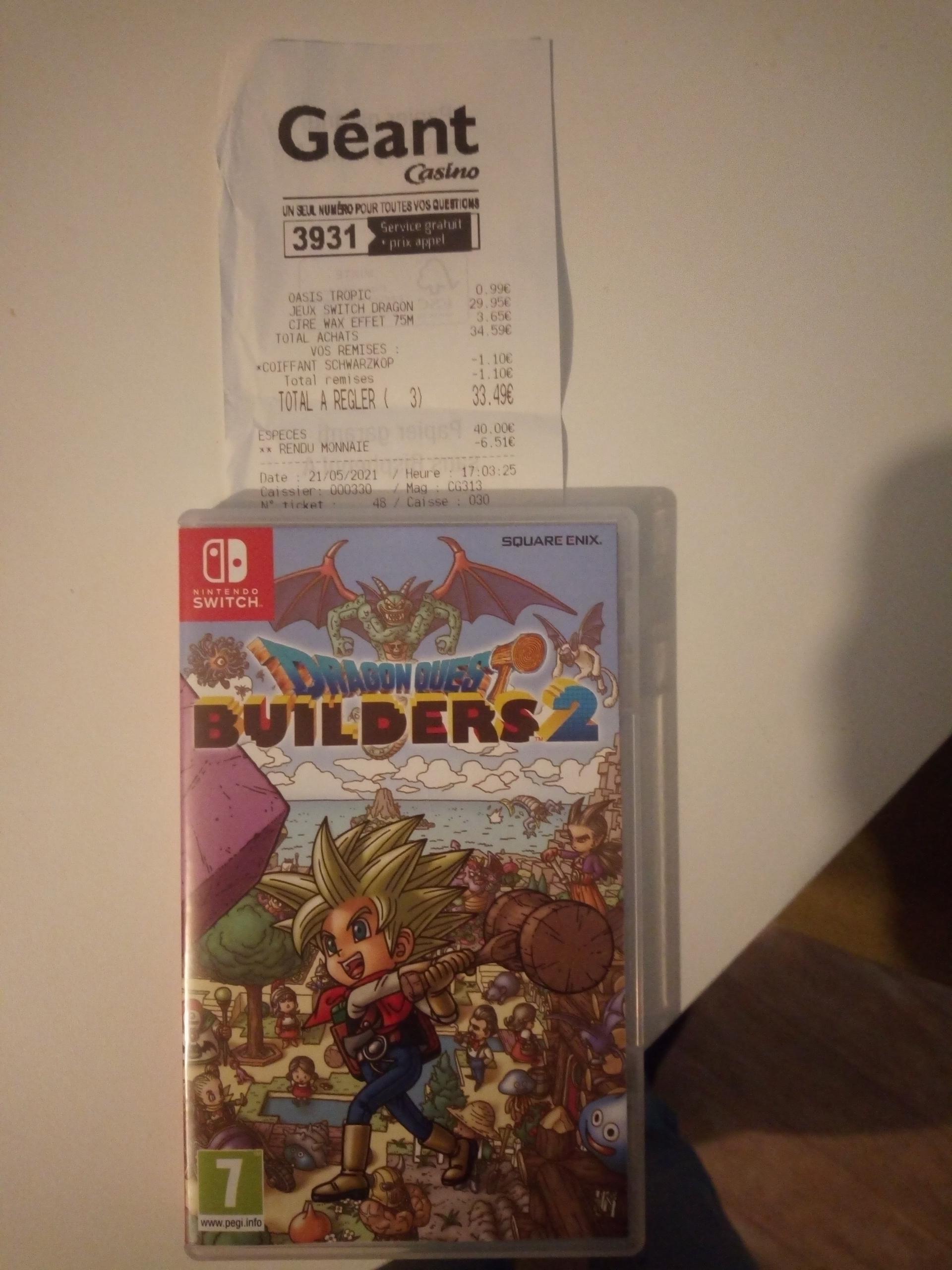 Jeu Dragon quest builder 2 sur Nintendo Switch - Géant Vals (43)