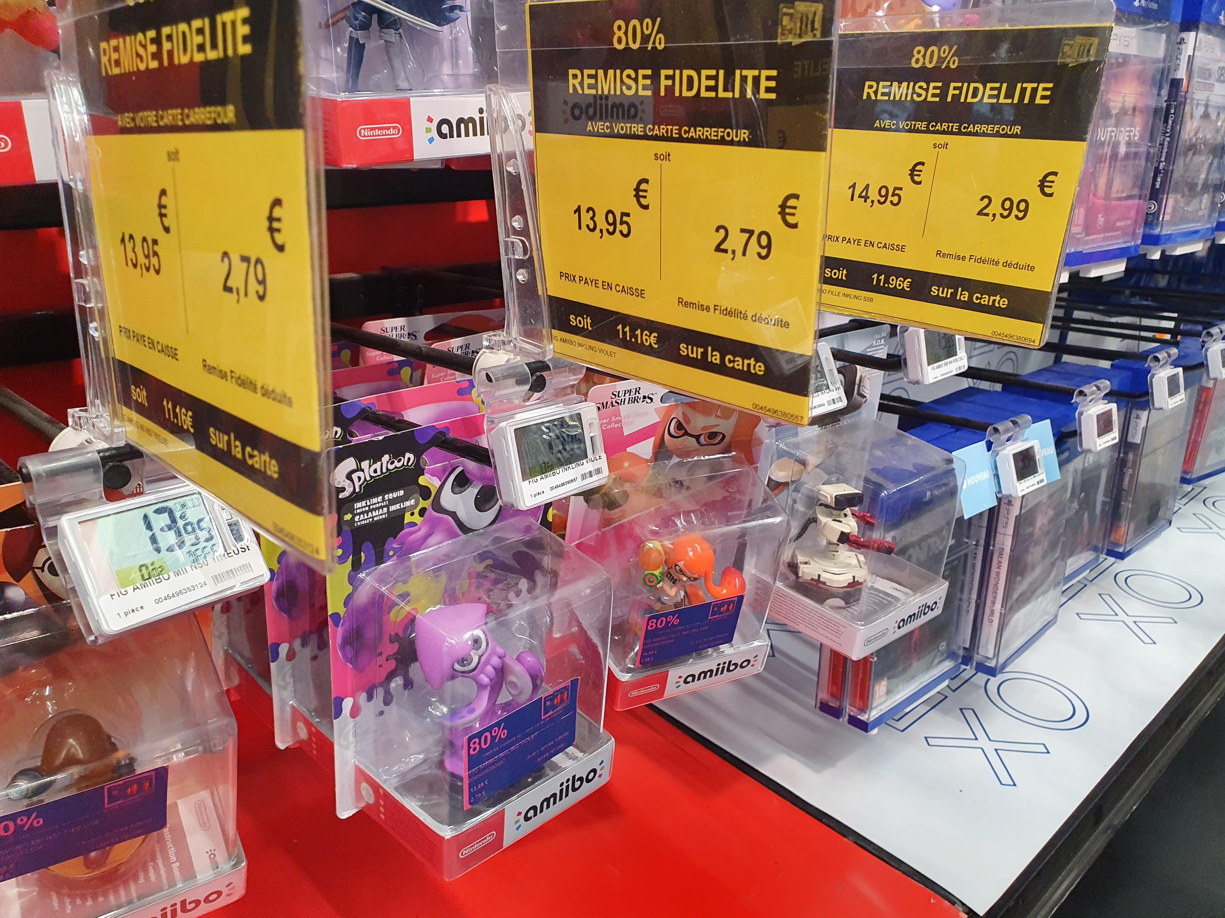 Sélection d'accessoires et jeux vidéo remboursé à 80% sur la carte - Carrefour Ecully (69)