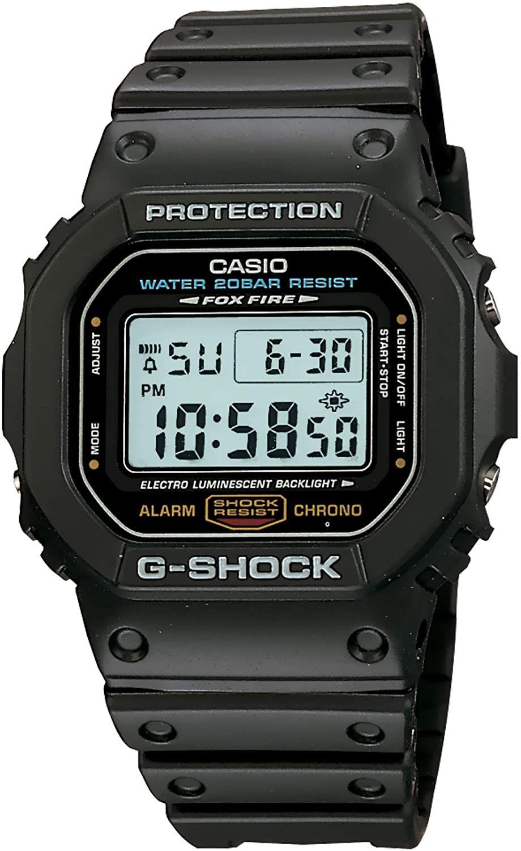 Montre à Quartz Casio G-Shock DW-5600E-1VER -43mm (taxes et frais de livraison inclus)