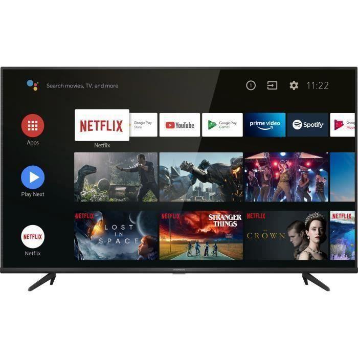 """TV 43"""" Thomson 43UG6430 - 4K UHD, HDR 10, Android TV 9.0"""
