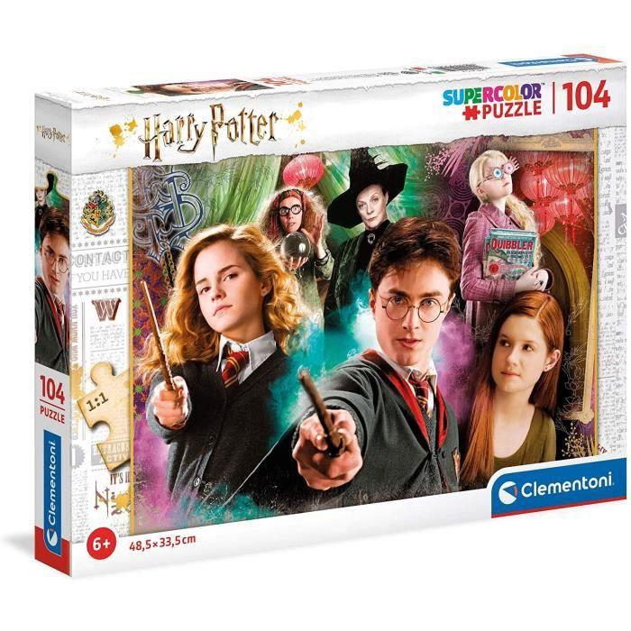 Puzzle Harry Potter Clementoni (25712) - 104 pièces, 6ans et +