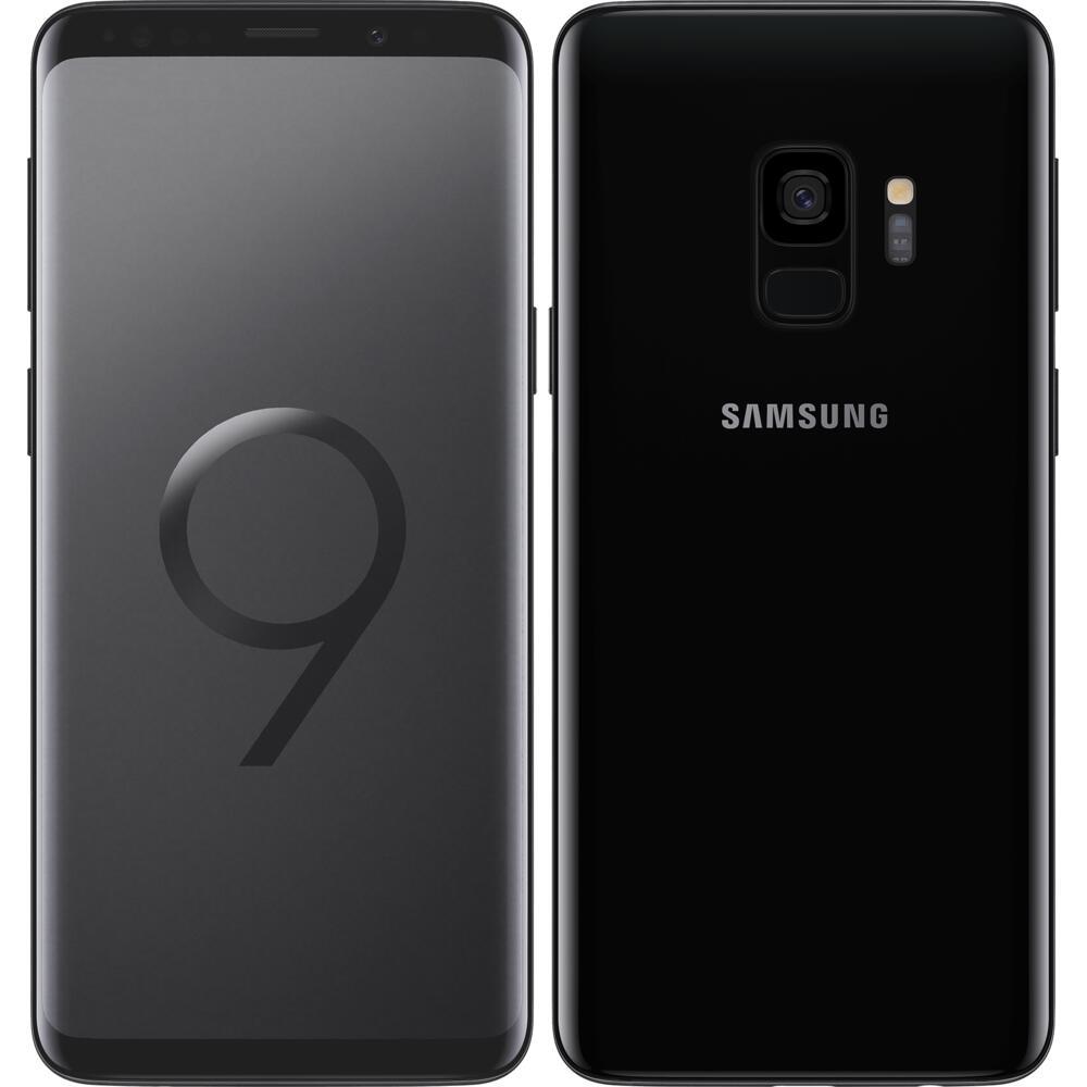 """Smartphone 5.8"""" Samsung Galaxy S9 - 64 Go (Reconditionné) + 24 mois de forfait Appels/SMS illimité + 100 Go (engagement sur 24 mois)"""