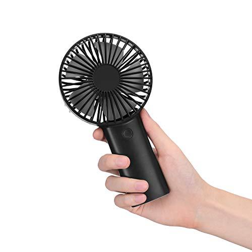 Mini ventilateur de poche - Noir (via coupon - vendeur tiers)
