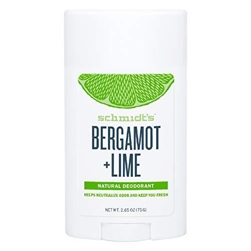 Déodorant Stick Schmidt's Naturel - Bergamote & Citron vert