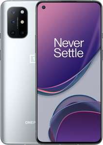 """Smartphone 6.55"""" OnePlus 8T 5G - Full HD+, SnapDragon 865, 8 Go RAM, 128 Go (397€ avec le code FRMAY018)"""