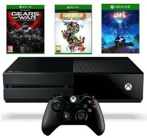 Console Microsoft Xbox One 1To + Gears of War: Ultimate Edition + Rare Replay + Ori and the Blind Forest