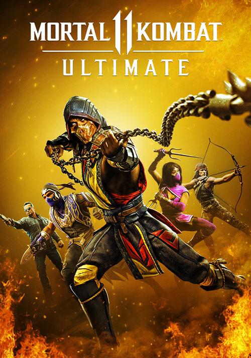 Mortal Kombat 11 Ultimate Edition sur PC (Dématérialisé - Steam)