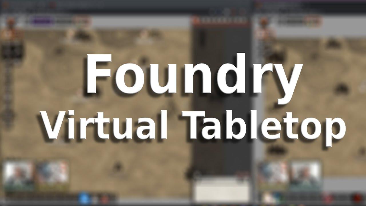 Licence Foundry Virtual TableTop (Dématérialisé, foundryvtt.com)