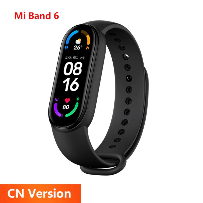 Bracelet connecté Xiaomi Mi Band 6 - AMOLED, version CN