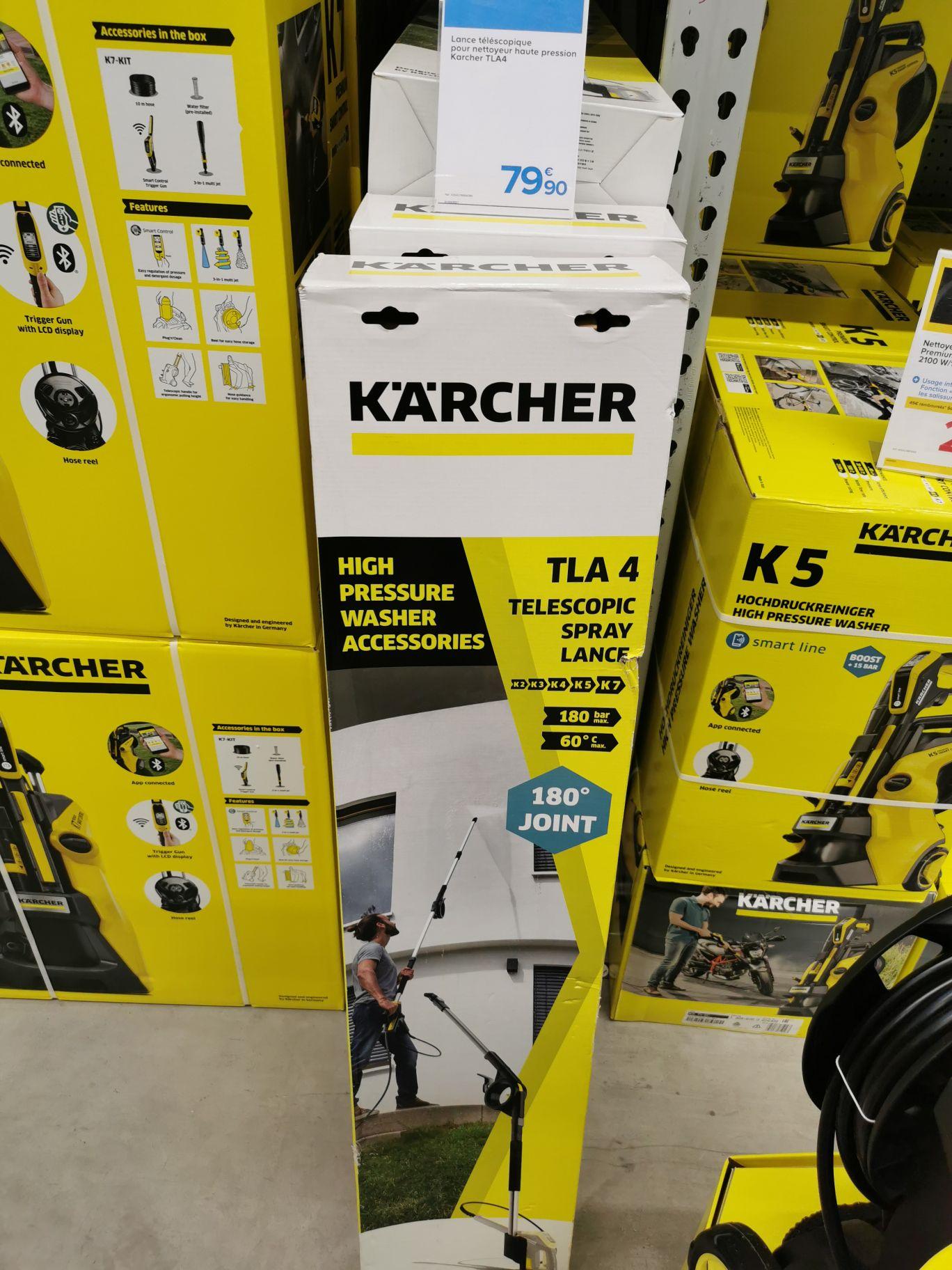 Perche télescopique karcher TLA4 (Via ODR de 15€) - Ormesson (94)