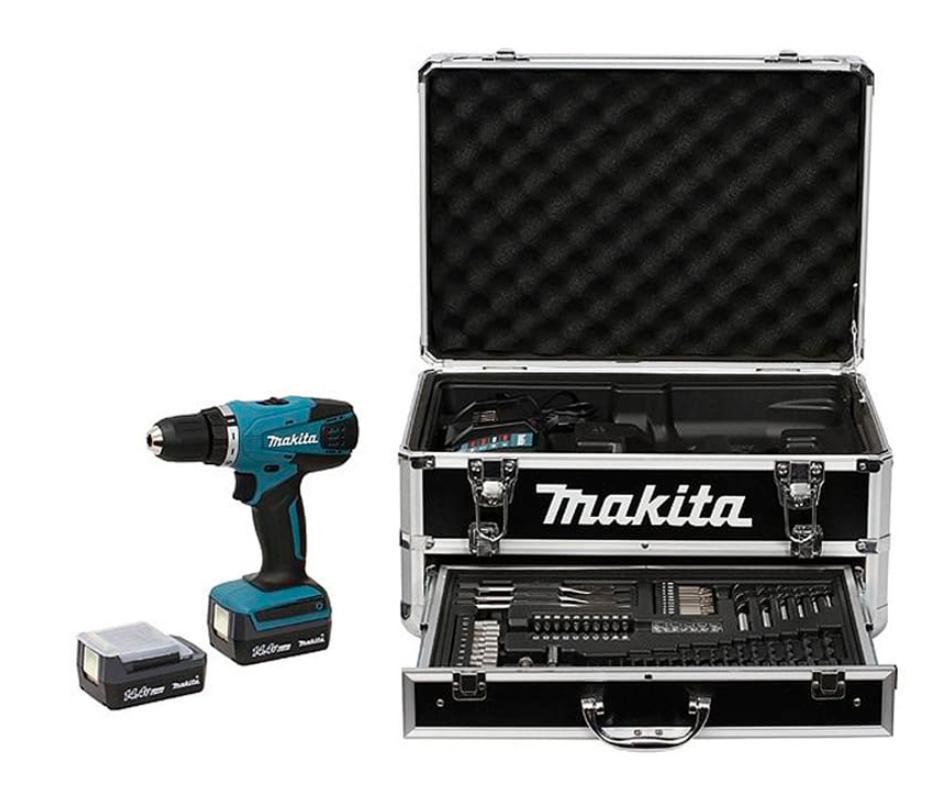 Perceuse visseuse sans fil Makita + accessoires