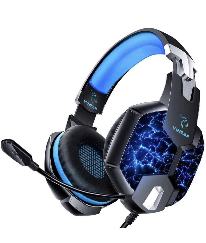Casque Gamer Filaire RGB Yinsan TM5 avec microphone (Vendeur TIers)