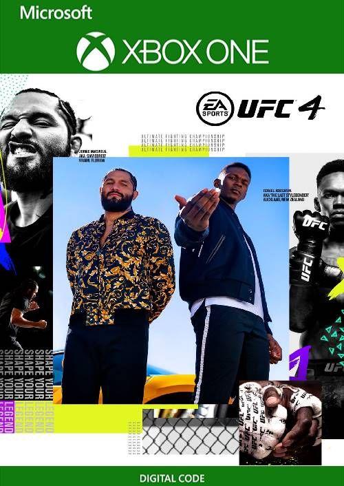 UFC 4 sur Xbox One (Dématérialisé)