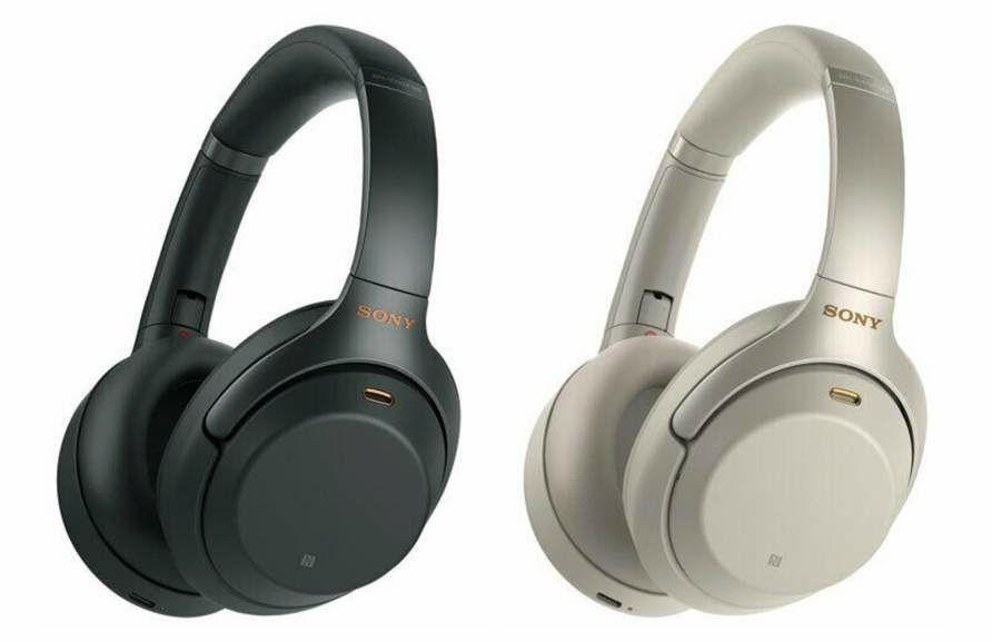 Casque audio sans-fil à réduction de bruit active Sony WH-1000XM3 - Noir/Argent (Frontaliers Suisse)
