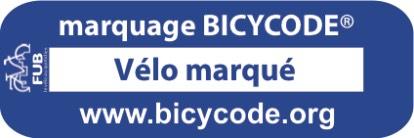 Marquage vélo et trottinette bicycode gratuit - Marly le roi (78)
