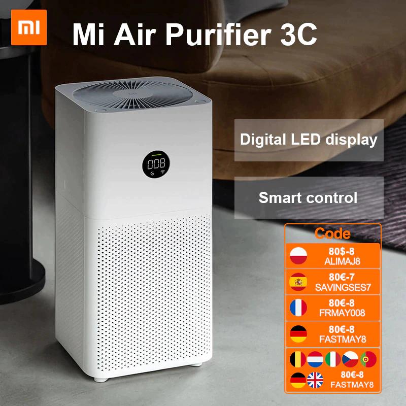Purificateur d'air Xiaomi Mi Air Purifier 3C - 320 m³/h (72.67€ via FRMAY008 - Entrepôt Espagne)