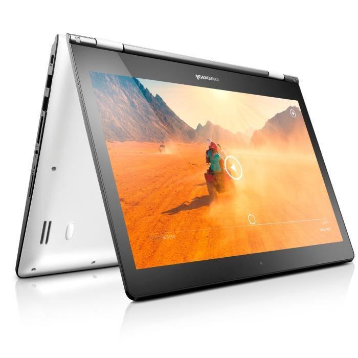 "PC Portable convertible 14""  Yoga 500-14IHW - 1366x768, i3 4005U 1.7GHz, RAM 4Go, 1To + 89,60€ en bon d'achat"