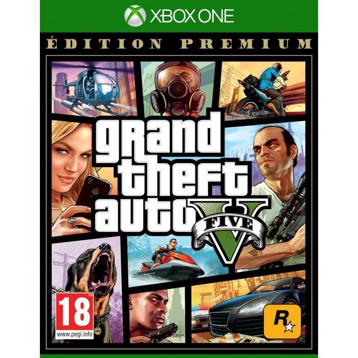 GTA (Grand Theft Auto) V - Édition Premium sur Xbox One