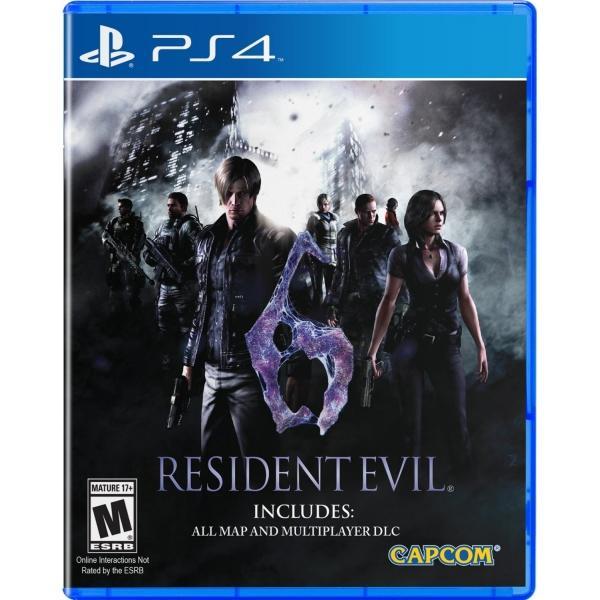 Resident Evil 6 sur PS4 (Import US)