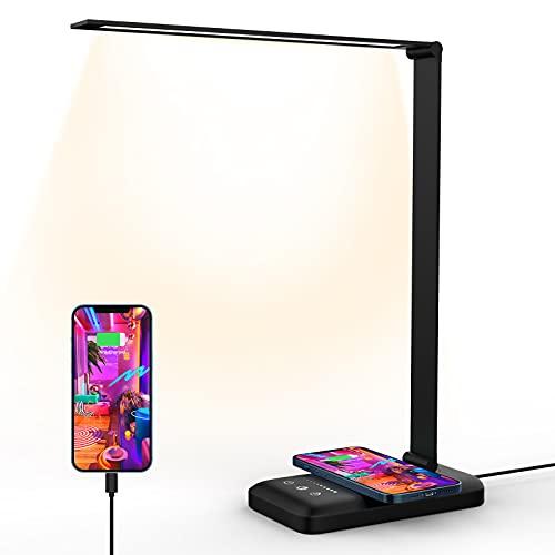 Lampe de bureau LED et chargeur sans fil 1314GQ (Vendeur TIers)