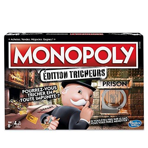 Jeu de société Monopoly Édition Tricheurs (via coupon)