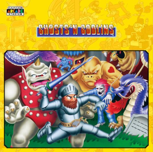 [PS+] Capcom Arcade Stadium : Ghosts 'n Goblins Offert sur PS4 (Dématérialisé)