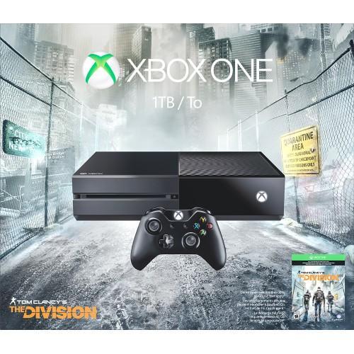 Pack Xbox One 1To + The Division + (Casque ou second contrôleur ou abonnement de 12 mois au Xbox Live)