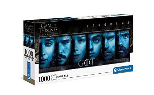 Puzzle Clementoni Game of Thrones - 98x33 cm,1000 pièces