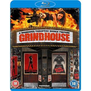 Coffret Blu-ray Grindhouse : Boulevard de la mort + Planète terreur  (Seulement en anglais)