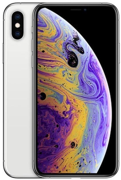 "Smartphone 5.8"" Apple iPhone Xs (full HD+ Retina, A12, 4 Go de RAM, 64 Go, argent) - occasion Correct (vendeur tiers)"