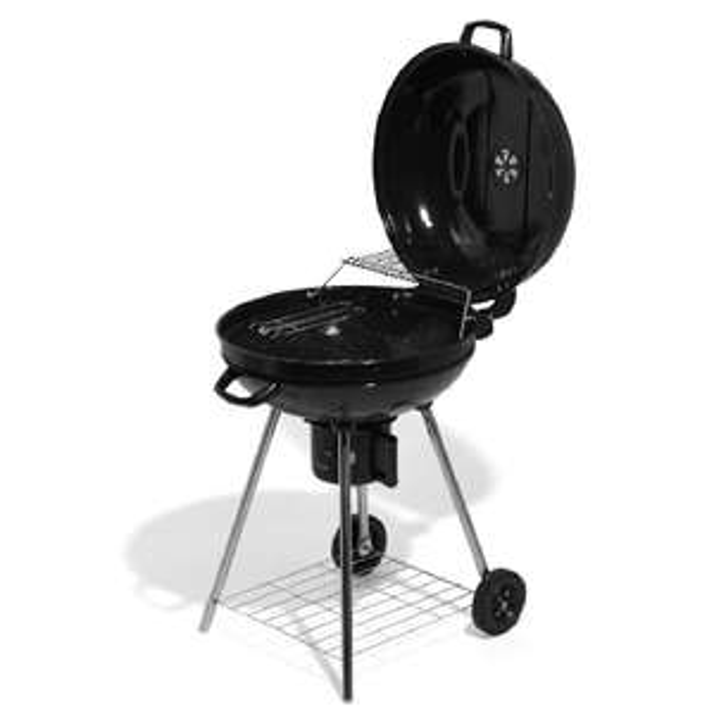 Barbecue charbon à roulettes Fisher - ø54 cm