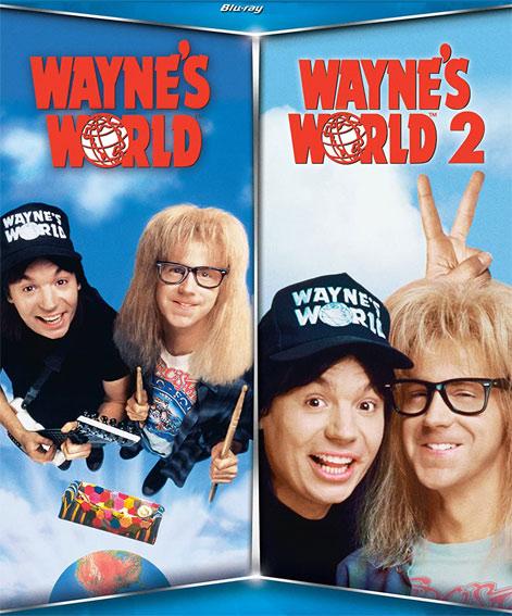 [Précommande] Coffret Blu-ray Wayne's World 1 et 2 (+5€ sur le compte fidélité pour les adhérents)