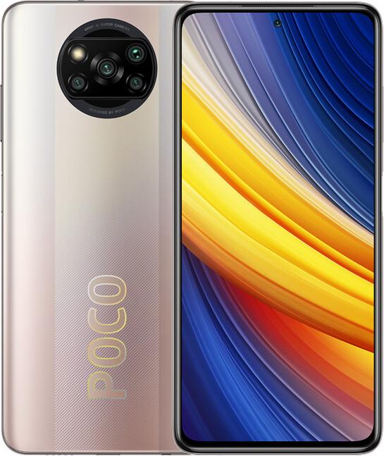 "Smartphone 6.67"" Xiaomi Poco X3 Pro - full HD+ 120 Hz, SnapDragon 860, 6 Go de RAM, 128 Go, bronze (Vendeur Tiers)"