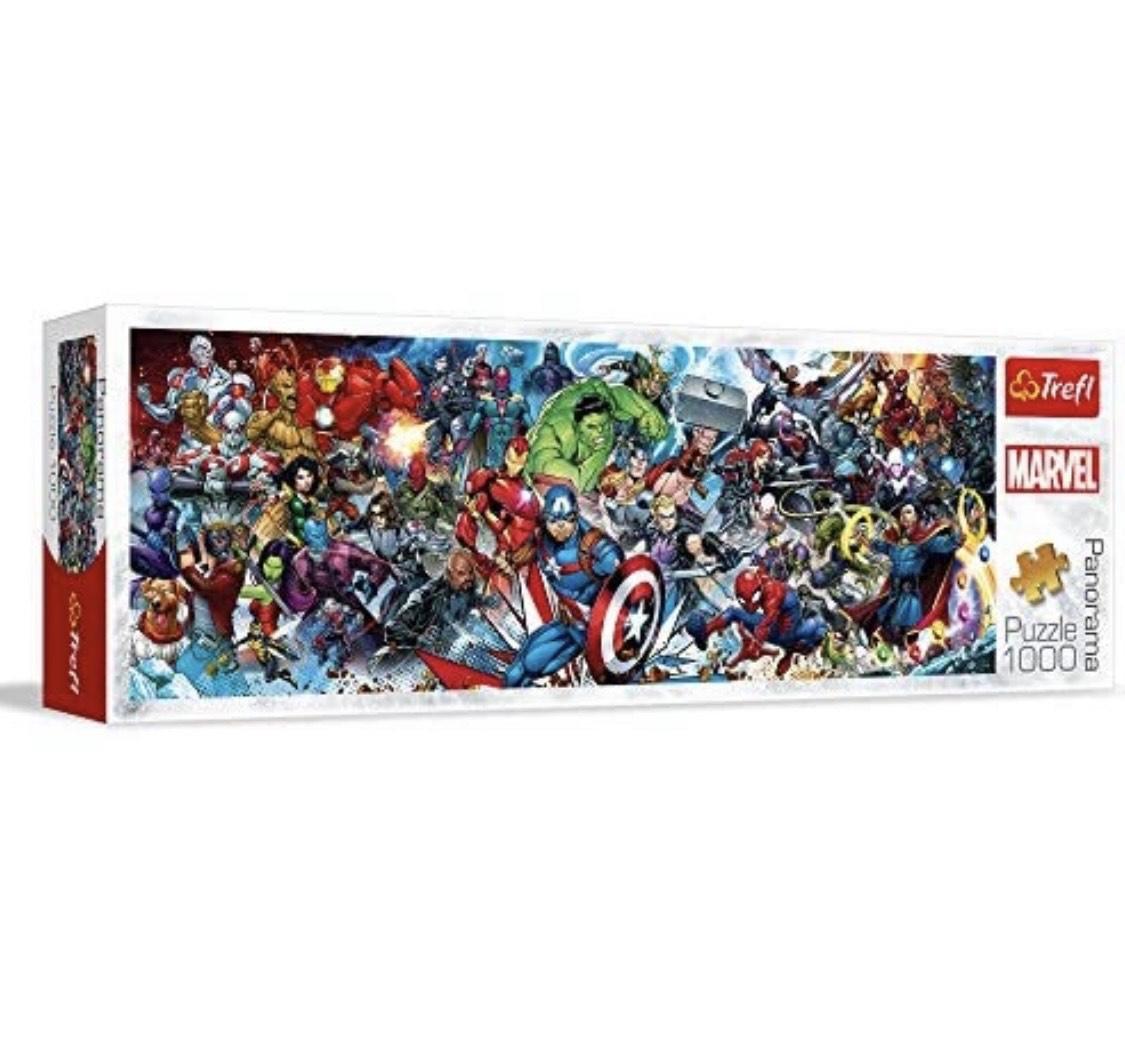 Puzzles Trefl - Panorama Marvel (1000 pièces)