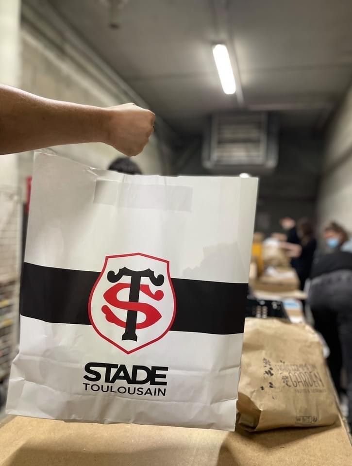 [Etudiants] Distribution gratuite de colis alimentaire et d'hygiène - boutique Stade toulousain