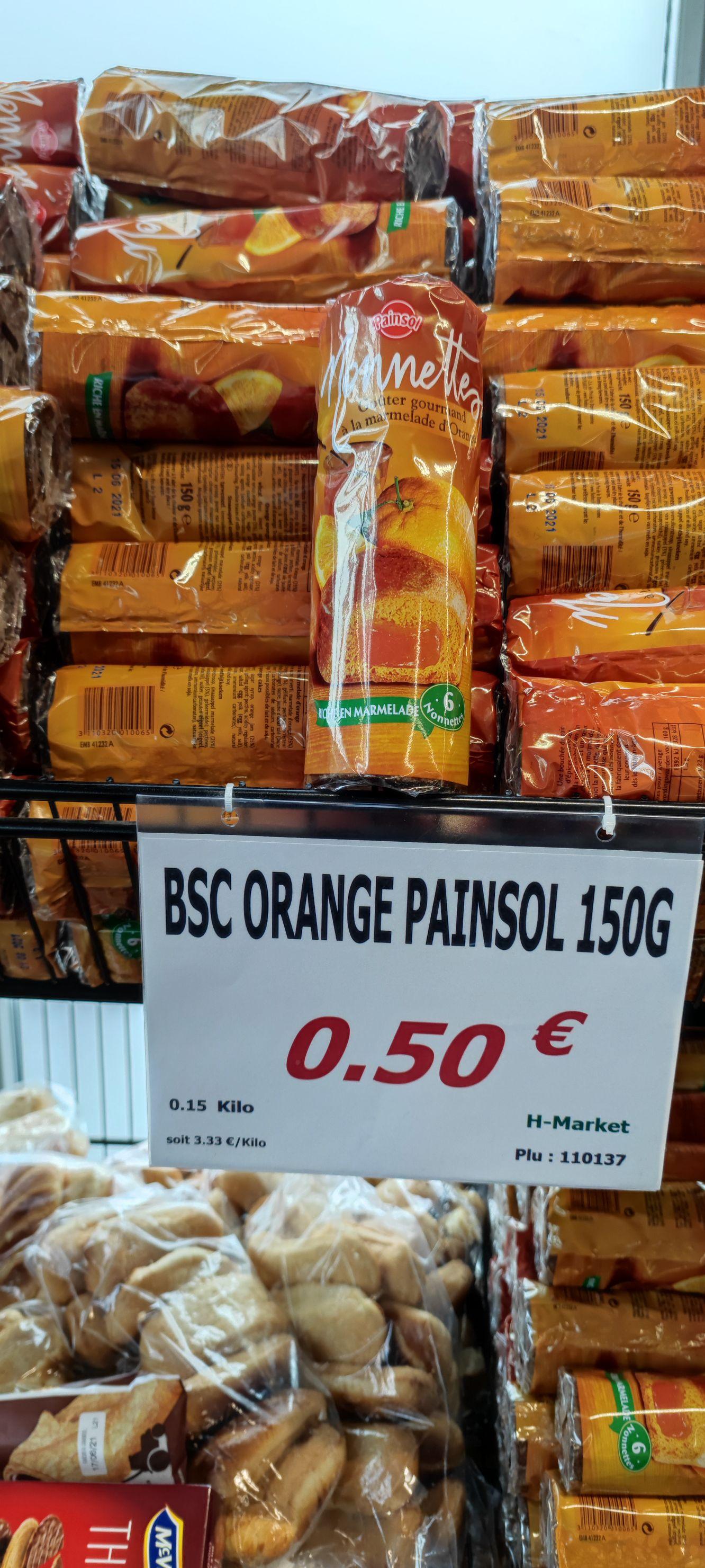 Lots de 6 Nonettes à la marmelade d'orange - Saint Ouen L'Aumône (95)