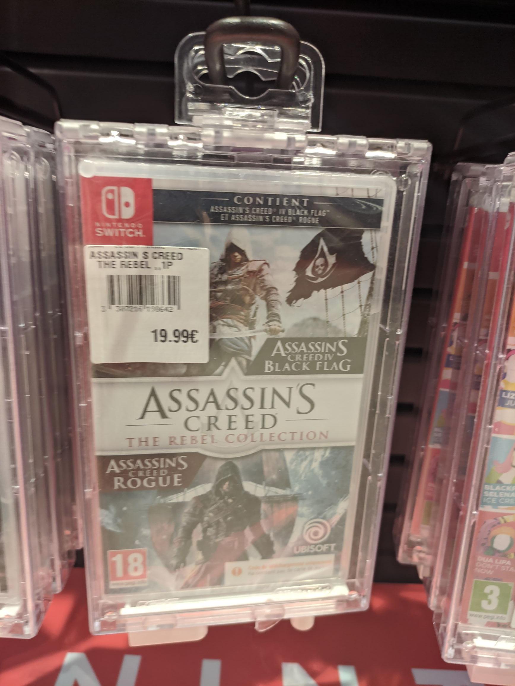 Sélection de jeux en promotion - Ex : Assassin's Creed : The Rebel Collection sur Nintendo Switch - Chécy (45)