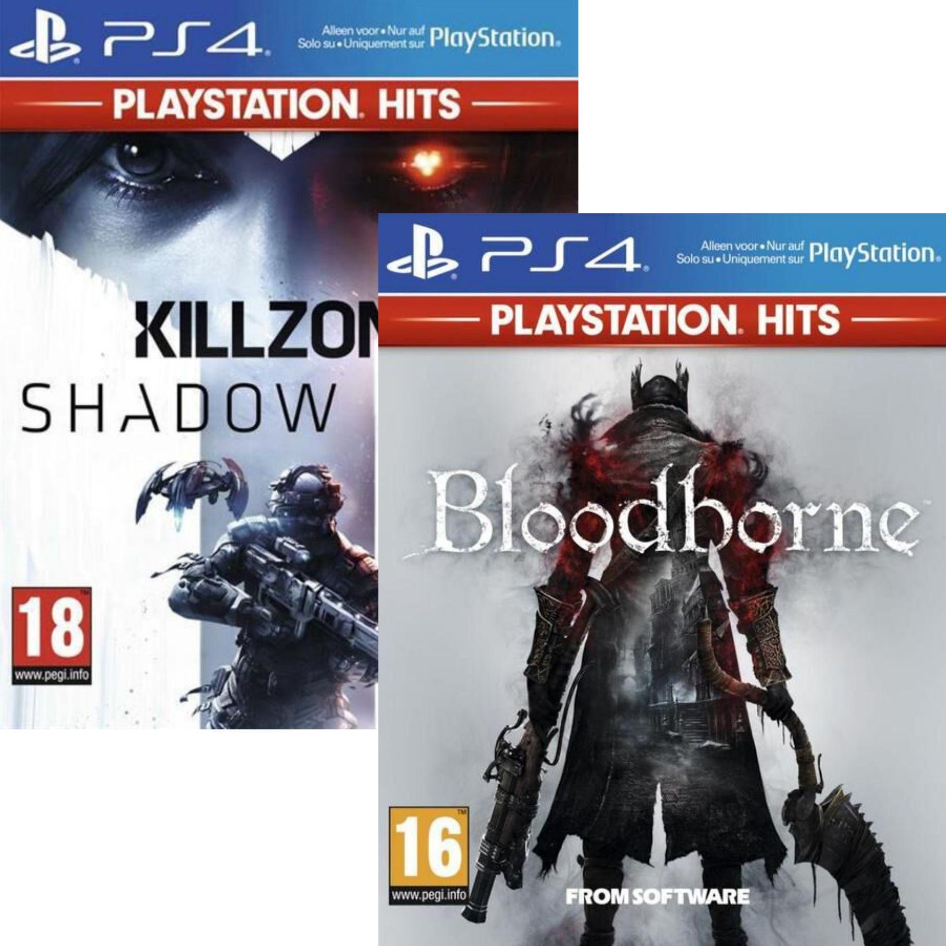 Killzone Shadow Fall ou Bloodborne - PlayStation Hits sur PS4 (Via retrait magasin)
