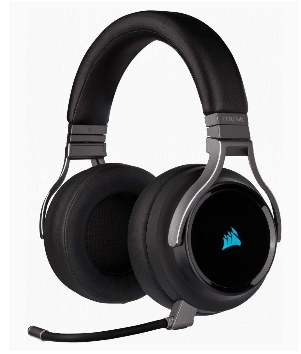 Casque Gaming sans-fil Corsair Virtuoso RGB Wireless - Noir
