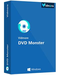 Logiciel Vidmore DVD Monster gratuit sur PC (dématérialisé)