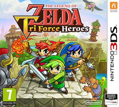 Legend of Zelda : Tri Force heroes sur Nintendo 3DS