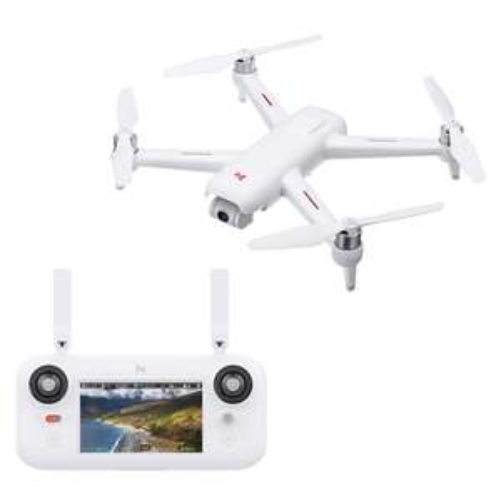 Drone RC RTF Xiaomi FIMI A3 - FPV 5.8G, Caméra 1080p 2-axes, GPS, Portée 1 km (Entrepôt EU)
