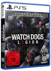 Watch Dogs Legion Ultimate Edition sur PS5