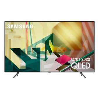 """TV 85"""" Samsung QE85Q70T (2020) - QLED, 4K UHD, 100 Hz, HDR 1000, Smart TV (+ 210€ offerts pour les Adhérents)"""