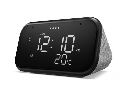 """Réveil connecté avec écran 4"""" Lenovo Smart Clock Essential - Compatible Google Assistant (+ 0.90€ en Rakuten points) - Vendeur Boulanger"""