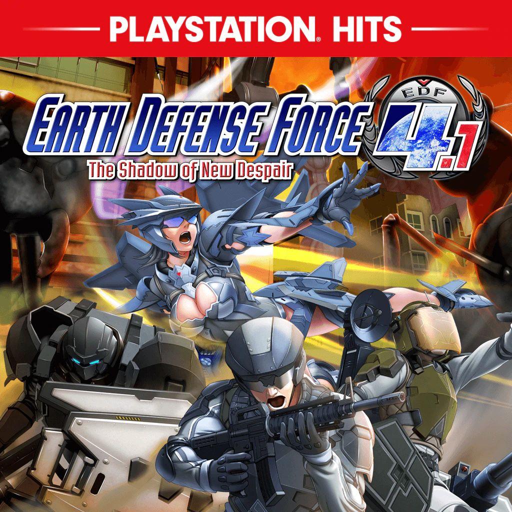 Sélection de jeux en promotion sur PS4. Ex: Earth Defense Force 4.1: The Shadow of New Despair (Dématérialisés)