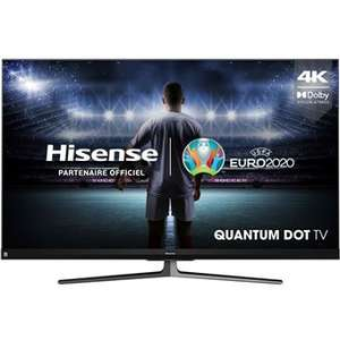 """[Adhérents] TV 55"""" Hisense 55U8QF - 4K UHD, QLED, 100 Hz, HDR10+, Dolby Vision, Smart TV (via 200€ ODR) + 80€ en BA (retrait en magasin)"""